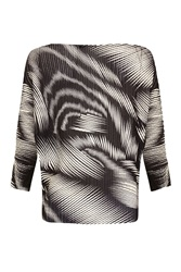 Quiz Black Light Knit Batwing Sleeve Top