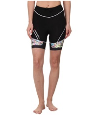 Louis Garneau Pro 7.25 Tri Shorts 2 Black Multi Women's Shorts