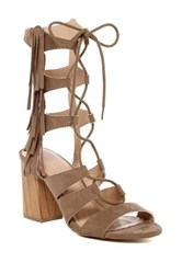 Legend Footwear Susie Fringe Sandal Brown