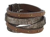 Leather Rock B453 Bronze Bracelet