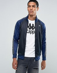 Kappa Track Jacket With Taping Black