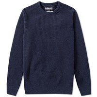 Barbour Bolmen Crew Neck Blue