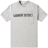 Engineered Garments Garment District Tee Grey