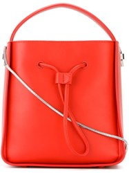 3.1 Phillip Lim Small 'Soleil' Bucket Tote Red