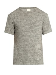 Simon Miller M300 Garcon Cotton And Silk Blend T Shirt Grey