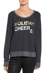 Sundry Women's Holiday Cheers Pullover