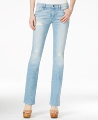 Guess Ripped Valencia Wash Bootcut Jeans Valencia Destroy Wash