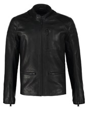 Chevignon Ben Leather Jacket Noir Black