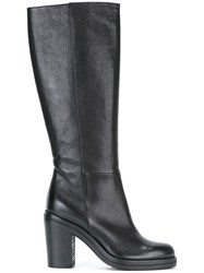 Pantanetti Knee Length Boots Black