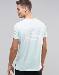 Asos T Shirt With Street Front And Back Print In Relaxed Fit Honey Dew Green