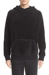 Atm Anthony Thomas Melillo Men's Velour Hoodie
