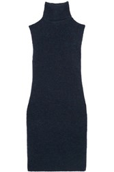Iris And Ink Ashley Knitted Turtleneck Tunic Midnight Blue