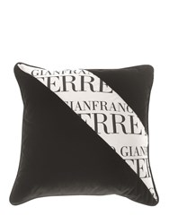 Gianfranco Ferre Home Printed Stripe Decorative Pillow