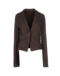 Fornarina Suits And Jackets Blazers Women Dark Brown