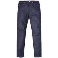 Acne Studios Max Stretch Raw Jean Indigo