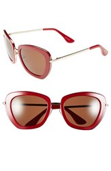 Women's Isaac Mizrahi New York 53Mm Retro Sunglasses