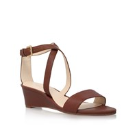 Nine West Lacedress High Heel Sandals Brown