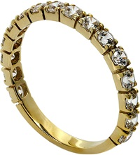 Carat Eternity Ring Yellow