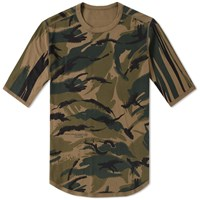 Mhi Maharishi Reversible Camo Pocket Tee Brown