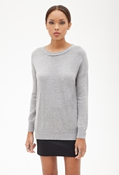 Forever 21 Knit Crew Neck Sweater