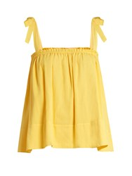 Loup Charmant Turen Cotton Top Yellow