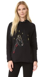 Jour Ne Hooded Sweatshirt Black