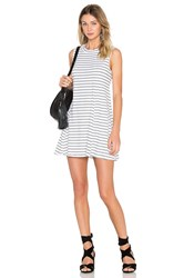 Bcbgeneration A Line Sleeveless Dress Black And White
