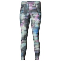 Asics Motion Dry Graphic Print Tights Multi