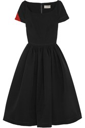 Preen Everly Stretch Crepe Dress Black