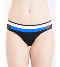 Jets By Jessika Allen Electrify Mesh Panelled Bikini Bottoms Black Oceanic