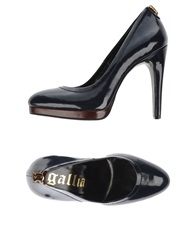 Galliano Pumps Dark Blue