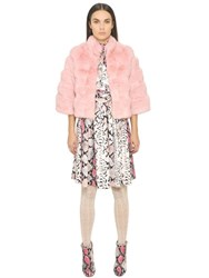 Blugirl Short Rex Rabbit Fur Jacket