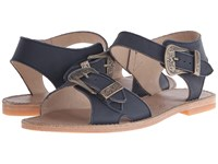 Penelope Chilvers Martha Leather Navy Women's Shoes