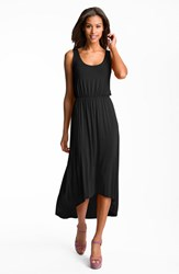 Women's Felicity And Coco High Low Hem Jersey Tank Dress Black