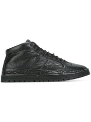 Marsell Lace Up Sneakers Black
