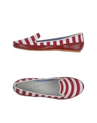 Cp Charles Philip Shangai Moccasins Red