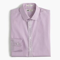 Thomas Mason For J.Crew Ludlow Shirt In Microstripe Warm Berry