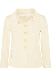 Red Valentino Cotton Blend Twill Jacket White