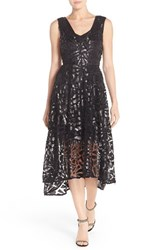 Women's Tracy Reese Sequin Lace Fit And Flare Dress