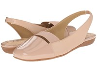 Trotters Sarina Nude Women's Slip On Dress Shoes Beige