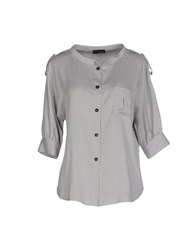 Tonello Shirts Shirts Women Grey