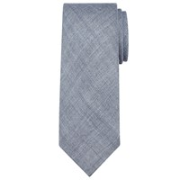 John Lewis Made In Italy Plain Wool Tie Blue