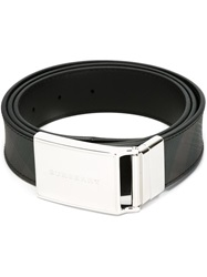 Burberry 'Charles' Buckled Belt Black