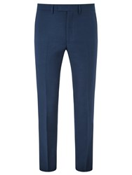 Kin By John Lewis Maddox Hopsack Slim Fit Suit Trousers Teal