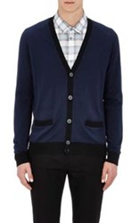 Marc By Marc Jacobs Button Front Cardigan Blue