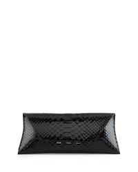 Vbh Manila Stretch Python Clutch Bag Black