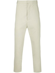 Alexandre Plokhov Drop Crotch Trousers Nude And Neutrals