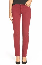 Women's Cj By Cookie Johnson 'Faith' Stretch Straight Leg Jeans Burgundy