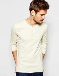 Selected Homme Long Sleeve Top Off White