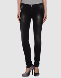 Novemb3r Denim Pants Black